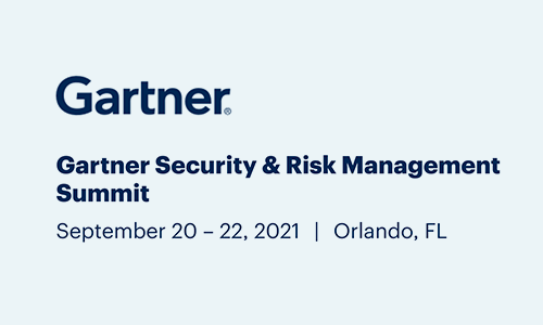 Logo for Gartner Security & Risk Management Summit