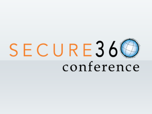 Logo for Secure360 conference